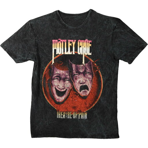 Motley Crue Men's Theatre Of Pain T-shirt Small Black f7c15133d200182dacc3db29bdd76766