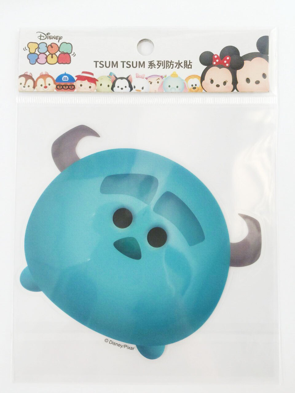 【真愛日本】16011200040  TSUM防水貼紙-毛怪   怪獸大學 大眼仔 迪士尼 裝飾貼紙 PVC 貼紙