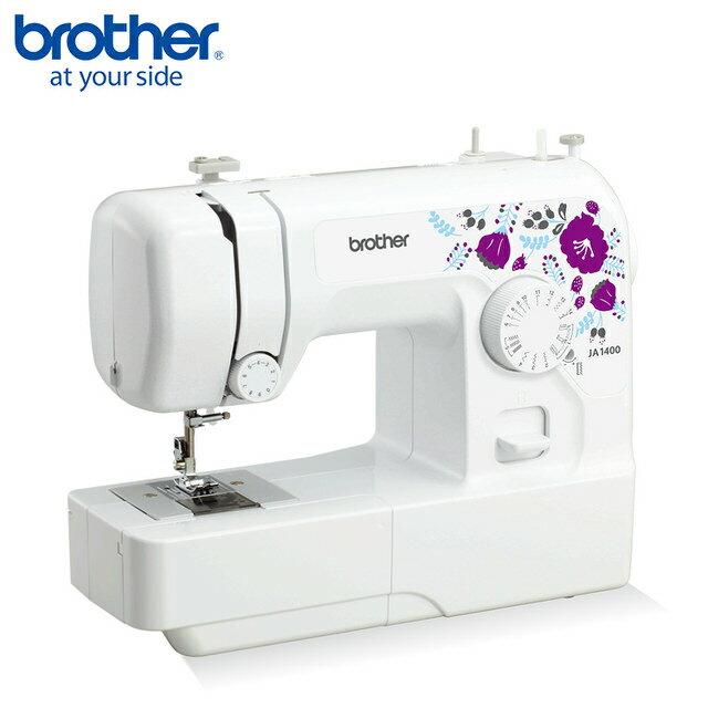 【日本 brother】紫語花仙子 實用縫紉機 JA-1400 ◤贈送教學光碟◢