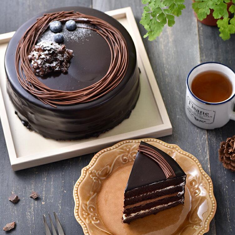 熔岩火山巧克力蛋糕(6吋)★免運★蘋果日報 母親節蛋糕 巧克力 第二名【布里王子】需五天前預訂 3