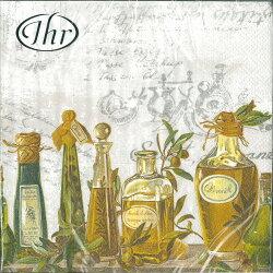 香草橄欖油-德國IHR餐巾紙(33x33cm)