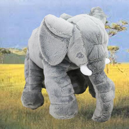 [敵富朗超市]30cm可愛大象玩偶