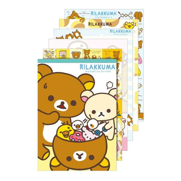 【真愛日本】18072400001RK15th紀念大便條本-收玩具懶熊啦啦熊奶妹san-x便條本便條紙