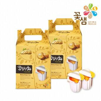 韓國花泉蜂蜜生薑茶(隨身包)450g(30g×15個)