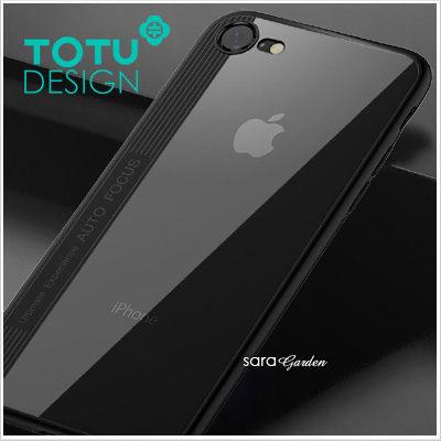 TOTU晶彩系列iPhone87i8i7手機殼防摔殼壓克力全包軟邊