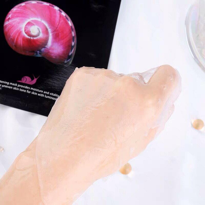 美人套組JM solution蝸牛水母燕窩魚子醬 經典蠶絲滋養保濕面膜