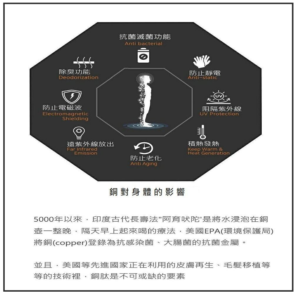 韓國抗菌奈米銅眼罩(特殊微電流奈米銅纖維織布製成) 1入 / 盒 2色可選 眼罩 / 美妝 / 美容 / 保養 / 旅行 / 遮光 9