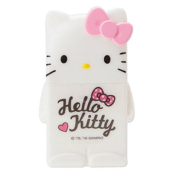 【真愛日本】16031600003 造型雙面膠-KT粉結 KITTY 三麗鷗 雙面膠 文具用品 黏貼