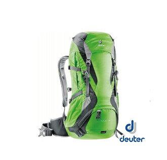 德國 deuter Futura 網架透氣背包 32+3L 綠/灰 34254