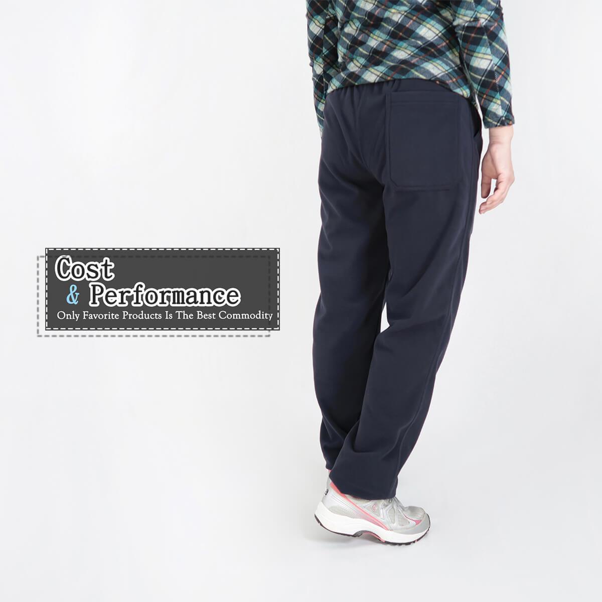 加大尺碼台灣製超細搖粒毛保暖褲 內裡刷毛保暖長褲 保暖棉褲長褲 機能纖維 全腰圍鬆緊帶 一件抵多件 MADE IN TAIWAN WARM FLEECE PANTS FLEECE LINED (020-2805-08)深藍色、(020-2805-19)深咖啡 腰圍M L XL 2L 3L(28~42英吋) 男女可穿 [實體店面保障] sun-e 7