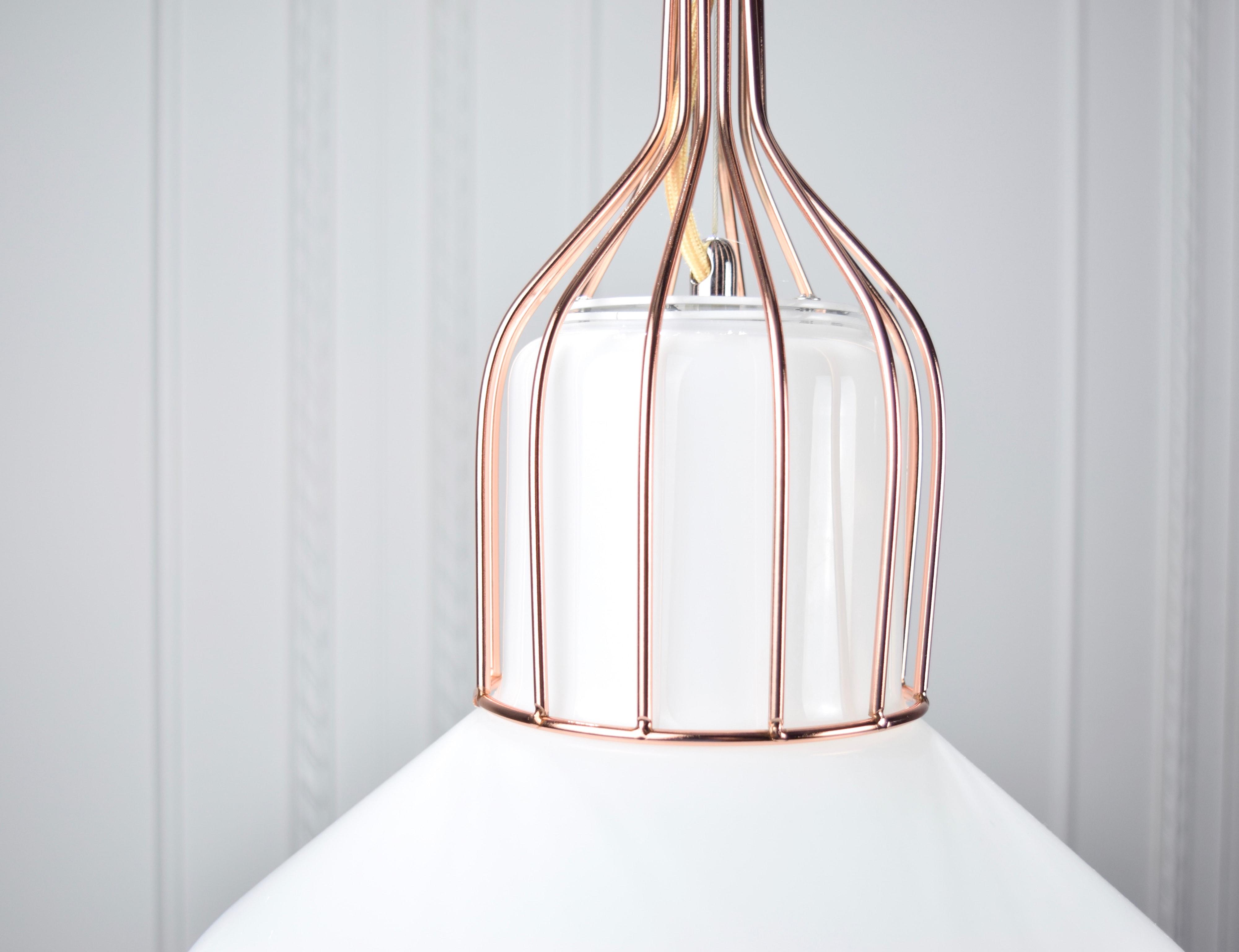 白玉紅銅吊燈-BNL00116 4