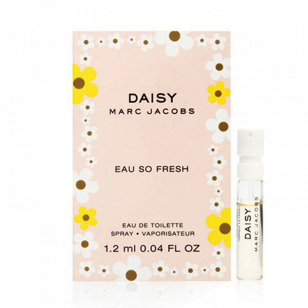 Marc Jacobs DAISY 清甜雛菊 女性淡香水(針管小香)1.2ml ♦ 樂荳城 ♦