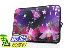 [106美國直購] 防護袋 YIDA 15-15.6吋 B01LPZY428 Laptop Sleeve Case Handle Bag Neoprene Cover, Dancing Butterfly