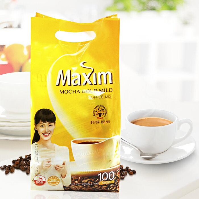 韓國Maxim 麥心摩卡/原味 三合一咖啡 [KO37019476] 千御國際 2