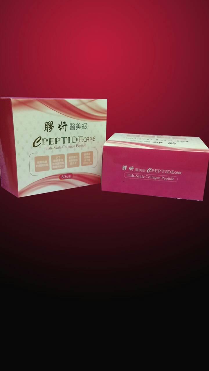 【膠妍】醫美級C PEPTIDE 膠原蛋白胜肽 60鋁箔包/盒