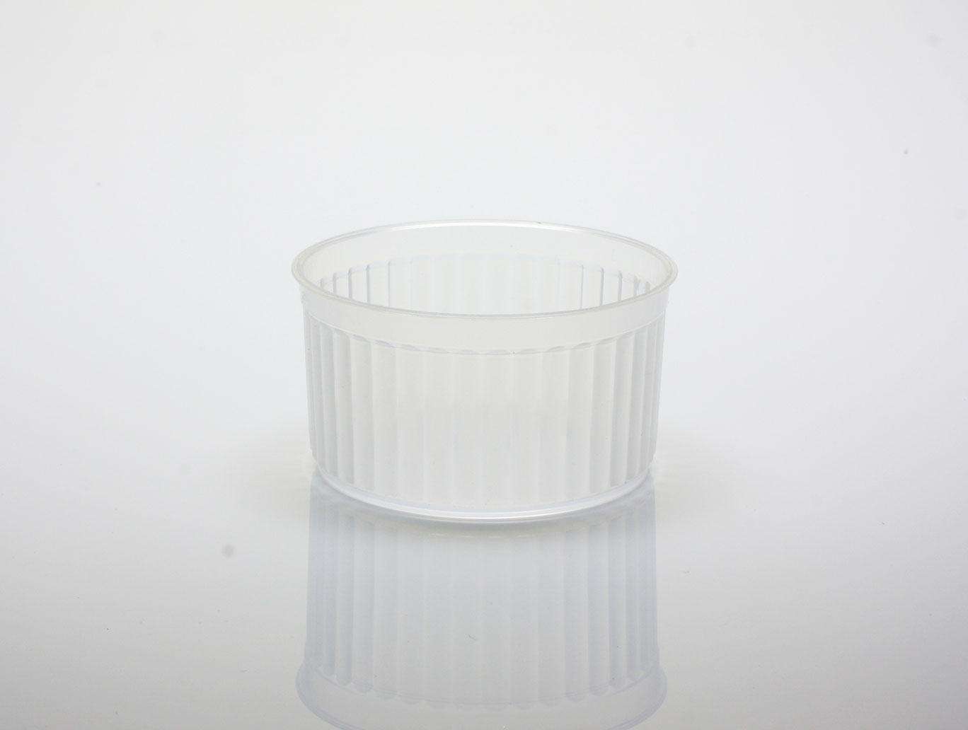【BS7440】布丁燒、布丁杯、烤布丁、奶酪杯、PP杯、耐熱杯、耐烤杯、波紋杯(20個+蓋)