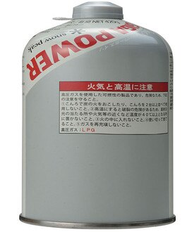 Snow Peak 銀罐標準型瓦斯500 GigaPower Gas GP-500S