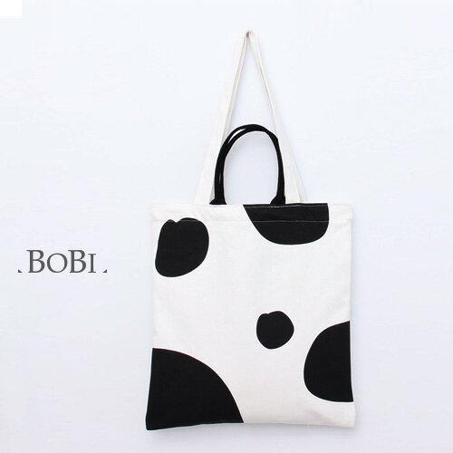 手提包 手提包 帆布袋 手提袋 環保購物袋--手提/單肩【SPE12】 BOBI  10/06 0