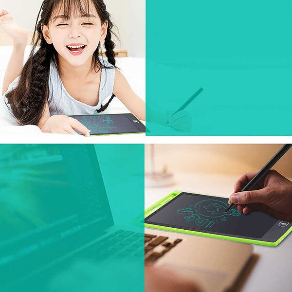 8.5-Inch Writing Board Doodle Board Konesky LCD Writing Tablet Handwriting Pad Message Graphics Board Gift for Kids and Adults at Home,School and Office