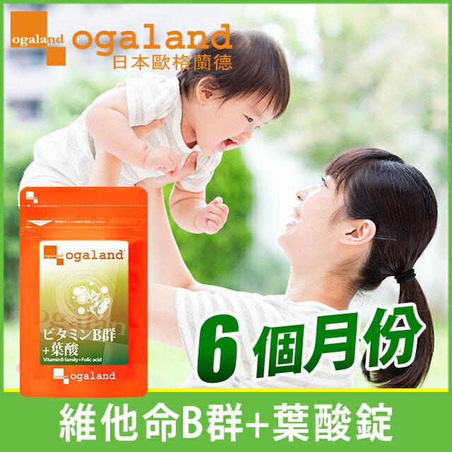 葉酸錠(含維他命B) ❀ 孕婦保健 健康維持 【約6個月份】ogaland 0