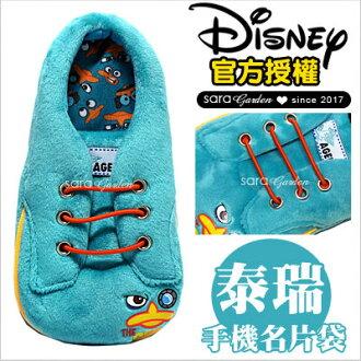 正版迪士尼鞋子手機袋泰瑞史迪奇米奇米妮奇奇蒂蒂小熊維尼三眼怪妙妙貓唐老鴨大眼仔毛怪