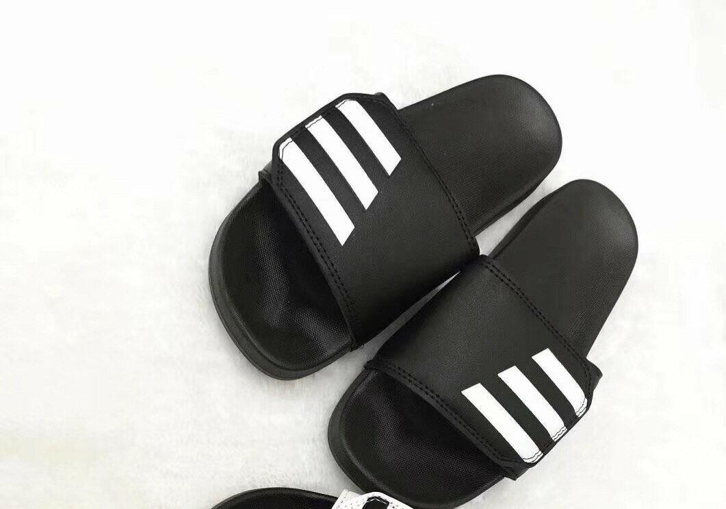 休閒拖鞋/鞋面自黏扣帶/一字拖  男女款 (41~45)尺碼偏小 建議大一號