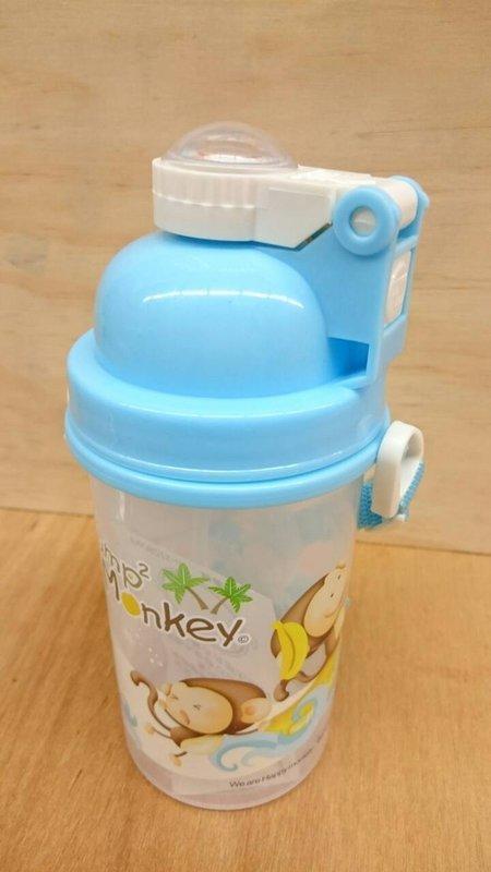 【跳跳猴QQ水壺MJ-038】395382 兒童水壺 杯袋水壺 吸管水壺