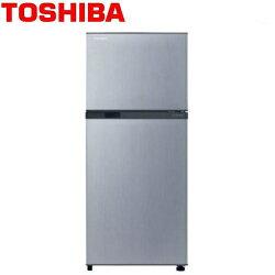 [滿3千,10%點數回饋]★贈沙宣刷具組VS3★TOSHIBA 新禾186公升 變頻電冰箱 GR-M25TBZ 典雅銀 **免費基本安裝**
