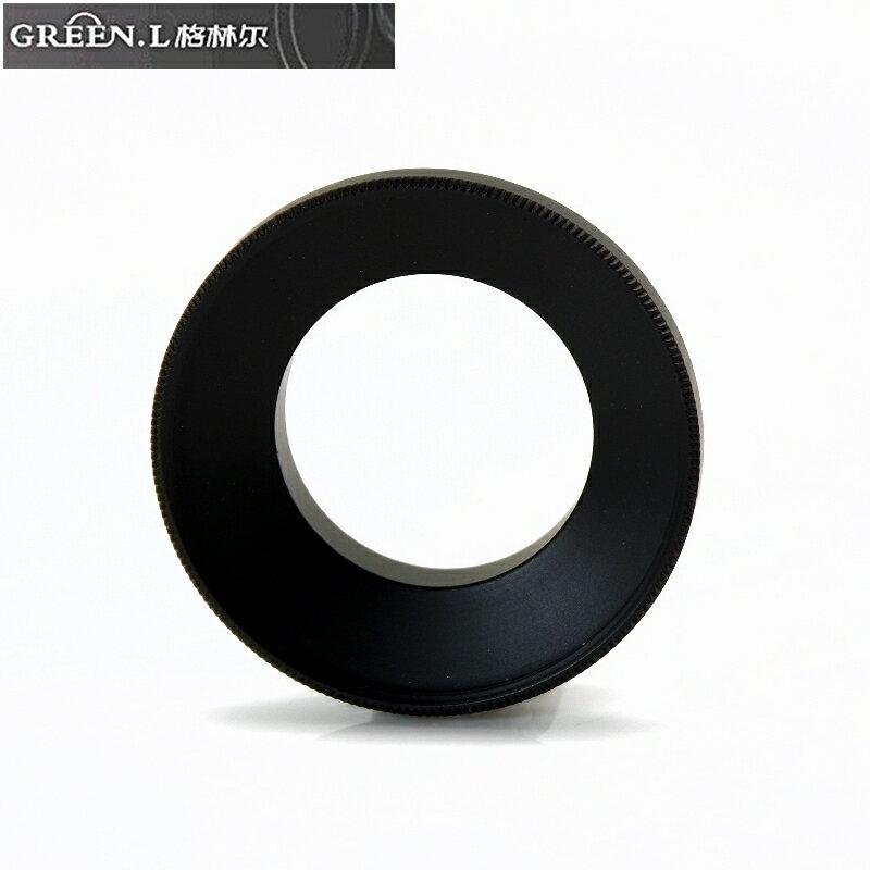 又敗家@Green.L副廠GoPro運動攝影機轉37mm濾鏡轉接環AR-4適Hero運動相機3 4 Hero3 Hero3+ Hero4 Hero+黑色LCD銀色