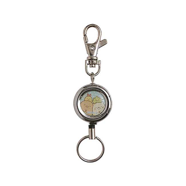 角落伸縮鑰匙圈 SAN-X 角落生物 鎖匙圈 日本進口正版授權