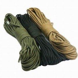 【軍規7芯傘繩-直徑4mm-長31米-1條/組】超強韌 單繩拉力140kg 救生繩 包芯繩 可用於刀柄捆紮 背包捆紮 野外捆紮帳篷拉繩-76007