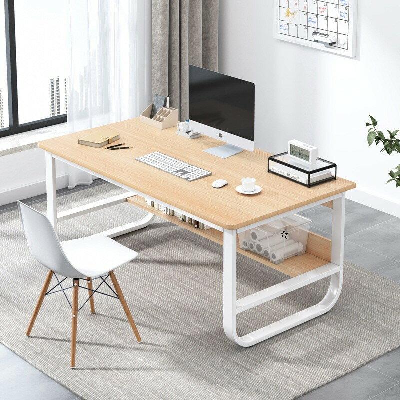 80*45CM辦公桌電腦臺式桌玻璃家用臥室簡約現代簡易書桌電競學習