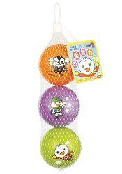 FOOD超人可愛智力球(橘紫綠):幼兒運動遊戲系列