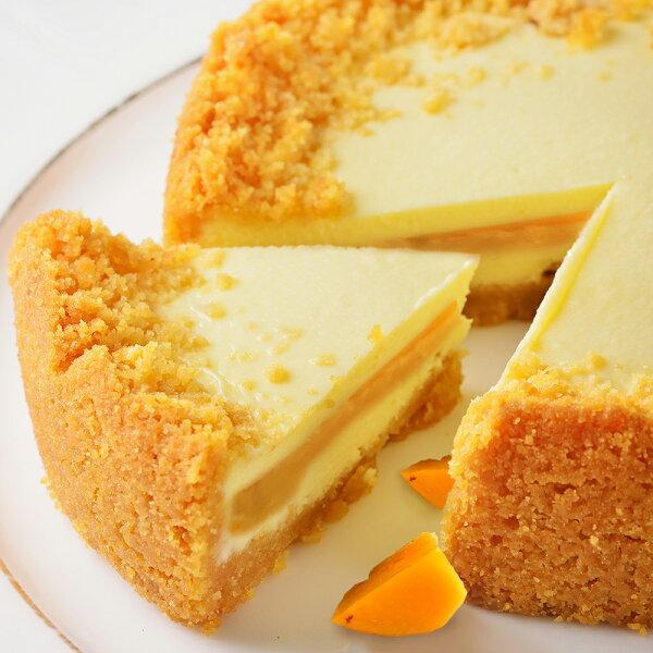 艾波索【芒果半熟乳酪6吋】蘋果日報蛋糕評比冠軍!芒果季夏天沁涼限定