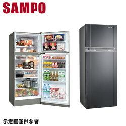 【SAMPO聲寶】340公升變頻雙門冰箱SR-A34D (S3)【三井3C】