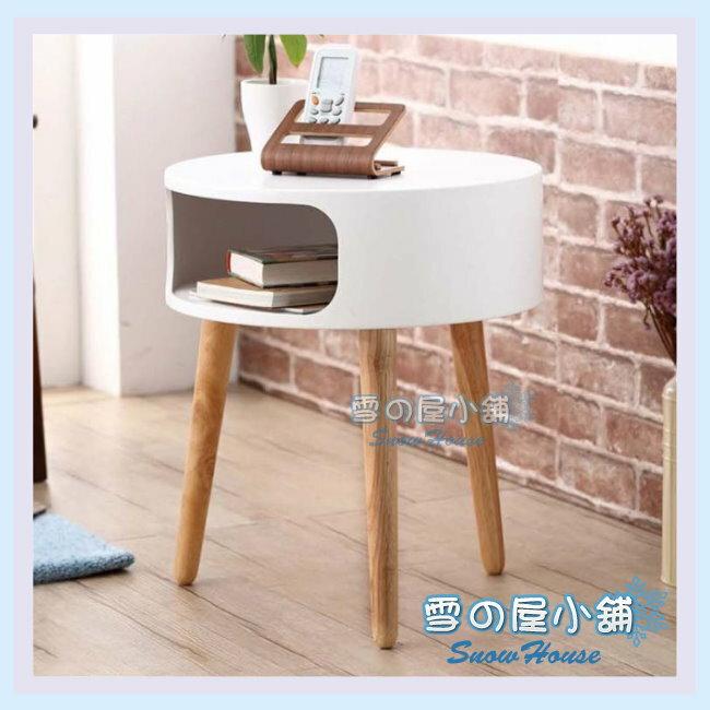 ╭☆雪之屋居家生活館☆╯R445-01 布蕾爾圓桌(白色)/DIY自組/置物桌/造型桌/小茶几/咖啡桌/收納桌