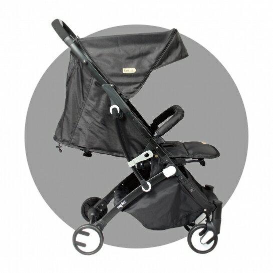 法國 Looping Squizz3 輕巧行李式嬰兒推車 手推車 登機手推車 寶寶推車(三色可選)(附雨罩+收納袋)