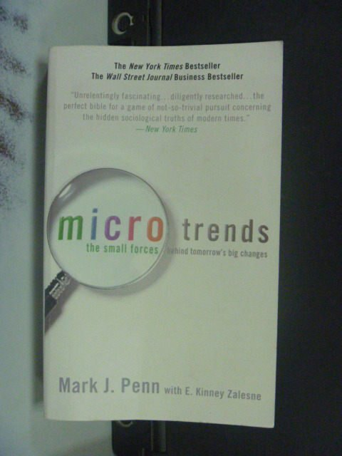 【書寶二手書T8/原文書_JEB】Microtrends The Small Forces…_Mark J. Penn