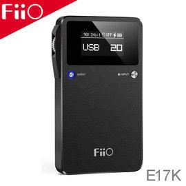志達電子 E17K FiiO USB DAC + 隨身型耳機擴大機 最高對應24bit/192kHz輸入(同軸) 支援DSD解碼