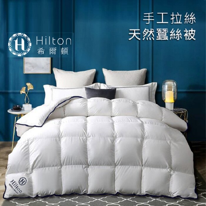 創意玩生活 【Hilton希爾】皇家貴族天然手工拉絲蠶絲被2.5KG