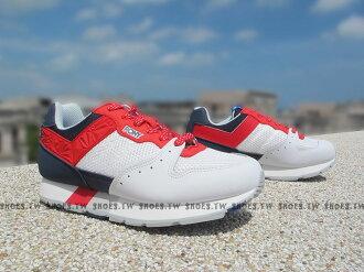 《超值990》Shoestw【53W1SO61RW】PONY SOLA 復古慢跑鞋 內增高 白藍紅 美國 星星 男女情侶鞋