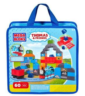 玩具反斗城  MEGA BLOKS-湯瑪士小火車袋裝主題積木
