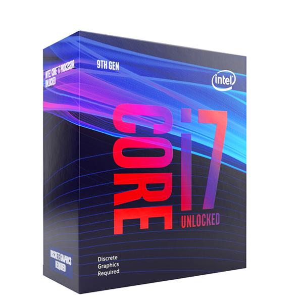 【最高折$1200+最高回饋25%】Intel 八核 Core i7-9700KF 8C8T / 3.6GHz(Turbo 4.9GHz) / L3快取12M / 95W / 無內顯 / 無風扇《代理公司貨》 CPU 處理器 1