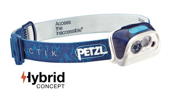 【【蘋果戶外】】PetzlE99AACACTIK藍【300流明IPX4】法國頭燈感應頭燈防潑水緊急