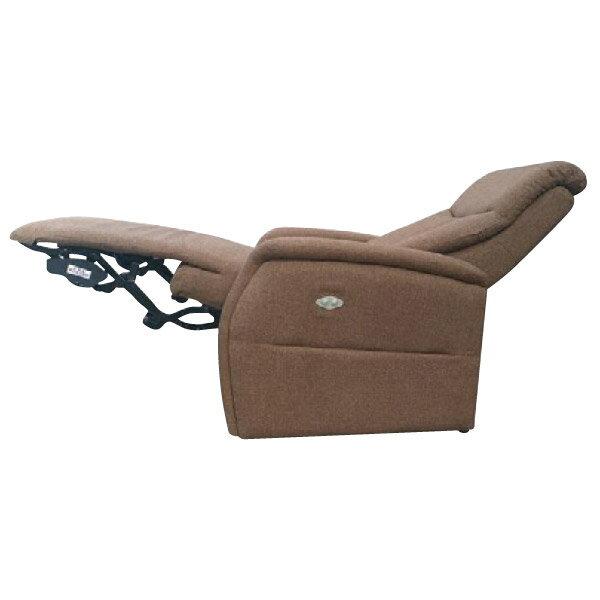 ◎布質1人用電動可躺式布沙發 CONFE BR NITORI宜得利家居 2