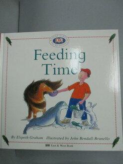 【书宝二手书T2/语言学习_JKF】儿童英语启蒙阅读读本8-FEEDING TIME吃饭了_东西图书编辑部_附光盘.图卡