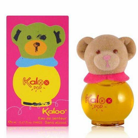 Kaloo 無酒精寶寶香水 POP彩繪熊香水 8ML 黃瓶 ☆真愛香水★