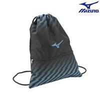 慢跑_路跑周邊商品推薦到33TM630321 (水藍) 多功能簡易背袋 【美津濃MIZUNO】
