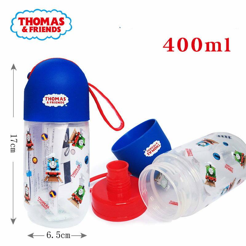 正版THOMAS湯瑪士小火車兒童直飲水壺手提水杯400ml