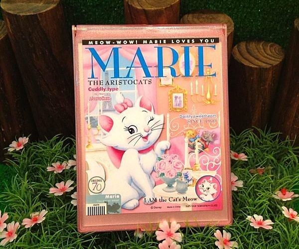 =優生活=日本原裝迪士尼系列 瑪麗貓鏡子限量版(大)摺疊鏡 隨身鏡 化妝鏡